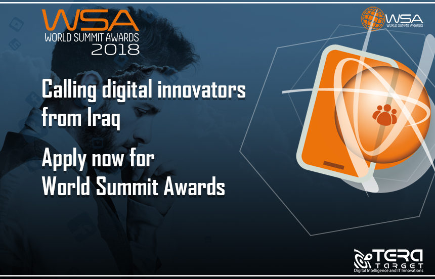 Calling digital innovators from Iraq! Apply now for World Summit Awards!